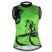 Майка для велоспорта, модная, на молнии, дышащая, анти-пот, жилет, одежда для велоспорта, майки, топы