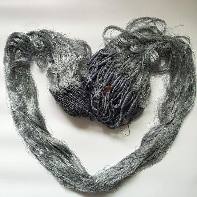 Finefish 3 層フィンランド刺網 1.8 メートル *(30 メートルまたは 60 メートル) アウトドアスポーツ漁網マルチフィラメントナイロンラインキャッチ釣りネットワーク