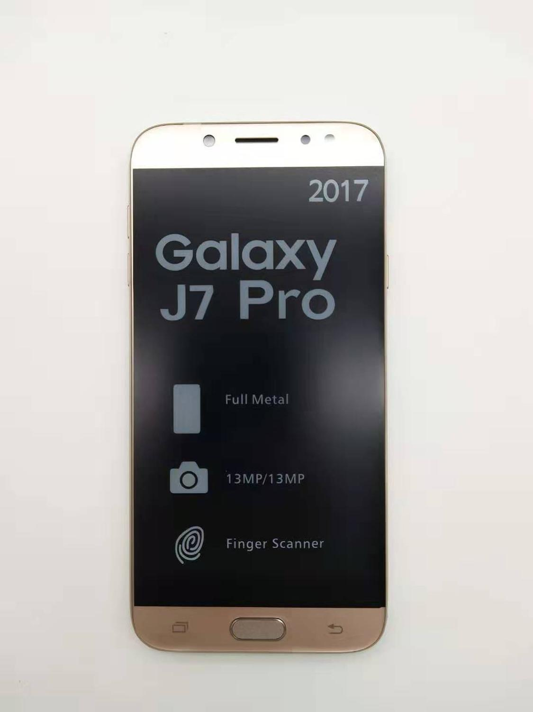 "Original Samsung Galaxy J7 Pro unlocked GSM 4G LTE Android Mobile Phone Octa Core Dual Sim 5.5"" 13MP 3GB+16GB refurbished"