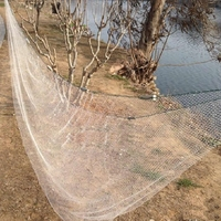 Lawaia Casting Net High Strength Small Mesh Hand Cast Net with Sinkers Casting Fishing Network Dia Fishing Tools Trap For Crabs