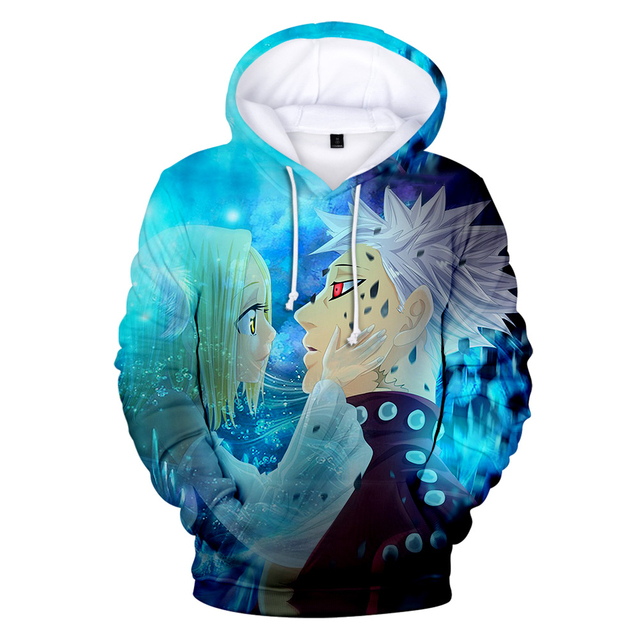 3D THE SEVEN DEADLY SINS HOODIE (9 VARIAN)