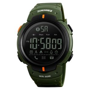 Image 4 - 2 Kleuren Smart Outdoor Sport Waterdichte Vrouwen Horloge Digitale Horloge Bluetooth Nemen Foto S App Informatie Herinnering