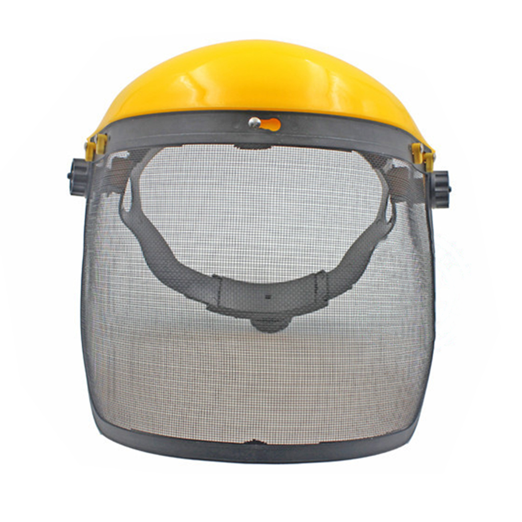 Mesh Design Safety Face Shield Lawn Mower Brush Cutter Chainsaw Eye Protector Mask