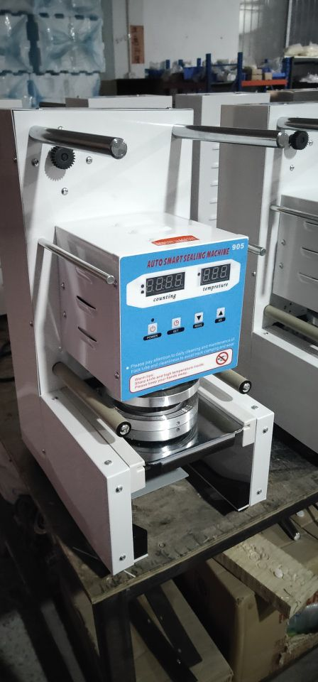 5% discount Digital cup machine sealing Automatic cup sealing machine /plastic cup sealing machine