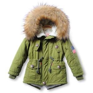 Image 3 - OLEKID 2020 סתיו חורף מעיל ילדה בתוספת קטיפה ברדס תינוק צמר מעיל 3 10 שנים ילד ילד הלבשה עליונה מעיל ילדי Parka