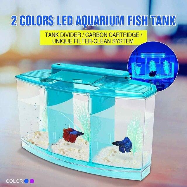 LED Betta Aquarium Tank 1