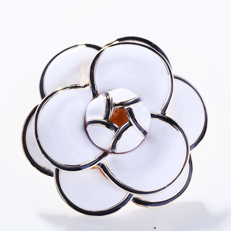 Multicolor Flower Brooch Pin for Women's Enamel Vitage Brooch Jewelry Clothes Scarf Buckle Garment Accessories Fine Jewelry Gift-2