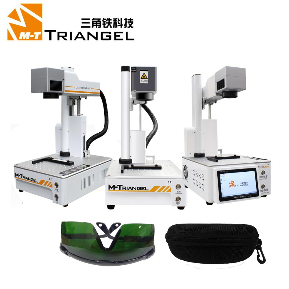 M Triangel Laser Separating Machine Fiber Laser LCD Repair Machine For iPhone separadora de lcd Back Glass Remover Frame Cutting-in Screen Seperator Machine from Cellphones & Telecommunications on