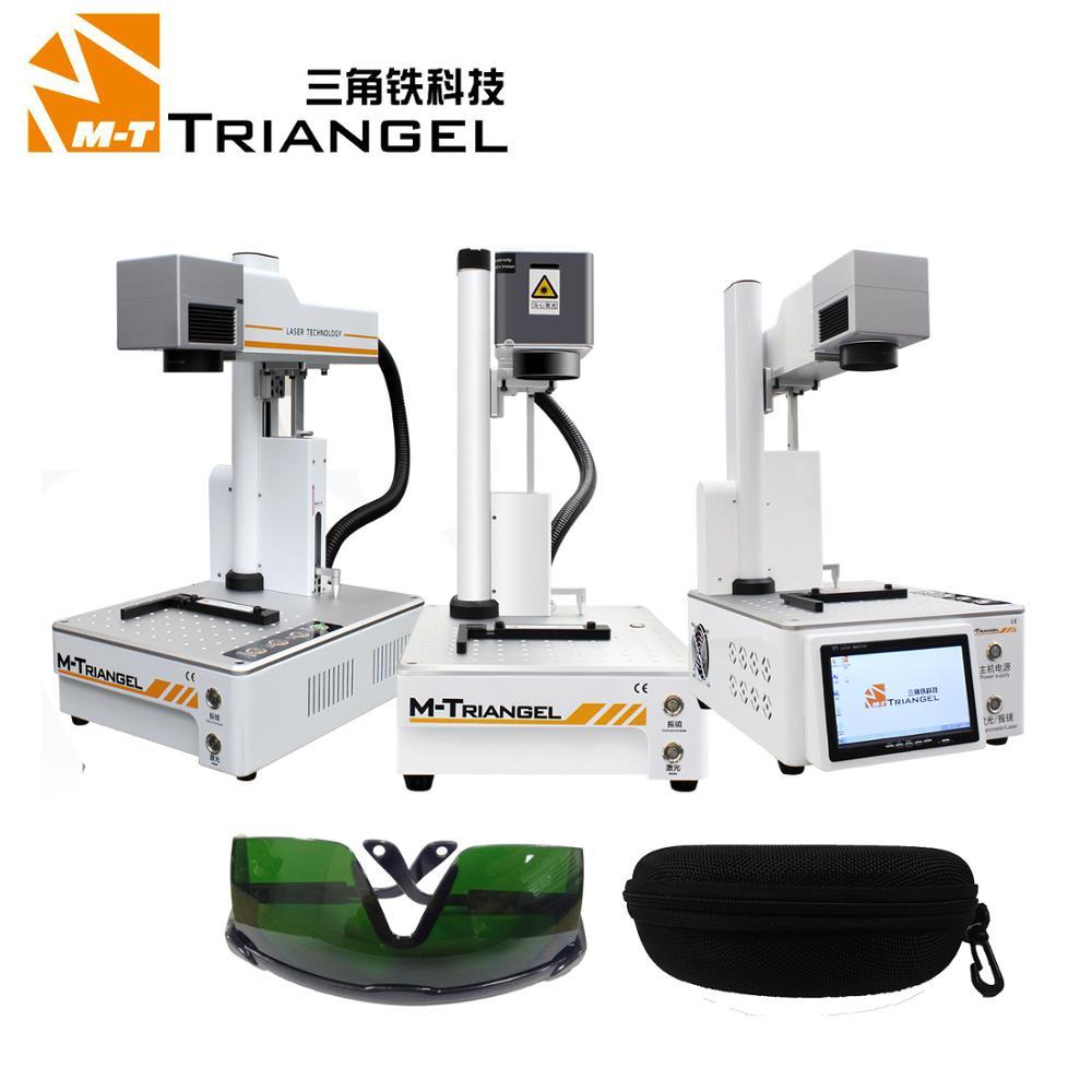 M-Triangel Laser Separating Machine Fiber Laser LCD Repair Machine For IPhone Separadora De Lcd Back Glass Remover Frame Cutting
