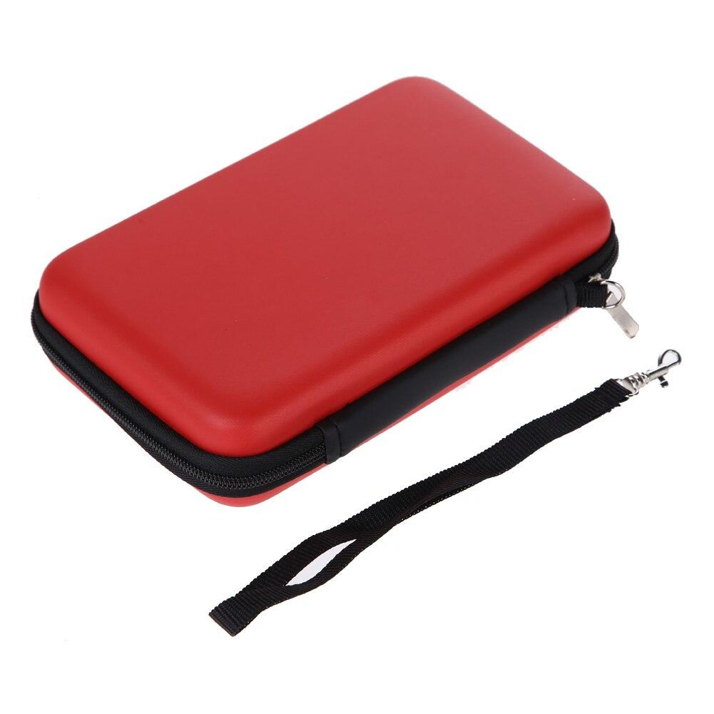 1 шт. EVA чехол сумка для нового 3DS XL 3DS LL 3DS XL 3 вида стилей для Nintendo чехол жесткие чехлы с ремешком для синий черный, красный
