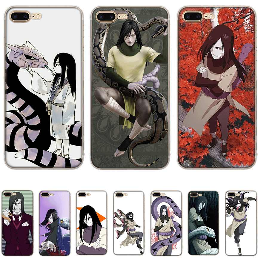 Mobile Phone Case tpu for iPhone 11 Pro X XS Max iPhone XR 6 6S 7 8 Plus 5 5S SE Cover Orochimaru
