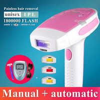Machine à épiler Laser IPL 3 en 1, Machine à épiler les cheveux Laser, tondeuse de Bikini permanente, épilateur électrique a laser pour femmes