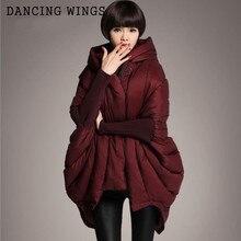 Европейский стиль, зимний женский пуховик, парка средней длины, белая утка, карманы, с капюшоном, плащ, пальто