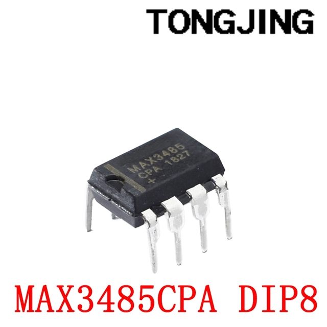 Nowy poziom nadawczo-odbiorczy MAX3485 MAX3485CPA MAX3485EPA DIP-8 (5 sztuk) tanie i dobre opinie CN (pochodzenie) integrated circuit