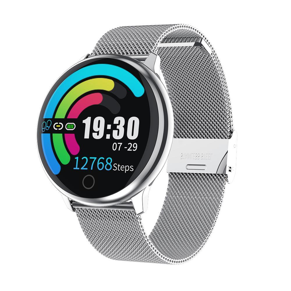 KARUNO Q16 Smart Horloge Vrouwen Digitale Horloges Vrouwelijke Periode Herinnering HeartRate Waterdichte Horloges Colories Stap