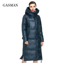 GASMAN – doudoune chaude, longue et épaisse pour femme, parka d'hiver, à capuche, vêtements d'extérieur, nouvelle collection 2020, 027