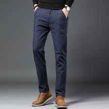 2019male autumn Casual tight skinny trousers/men h
