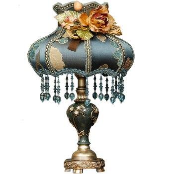 European Style Desk Lamp Cheap Bedroom Bedside Lamp Cozy Originality Table Lamp Luxurious Modern Night Light  Daglichtlamp