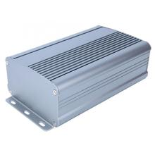 Алюминиевый корпус для охлаждения корпус Электронный DIY для инструментов коробка корпус 55x95x150 мм провод для теплорассеивающего алюминия