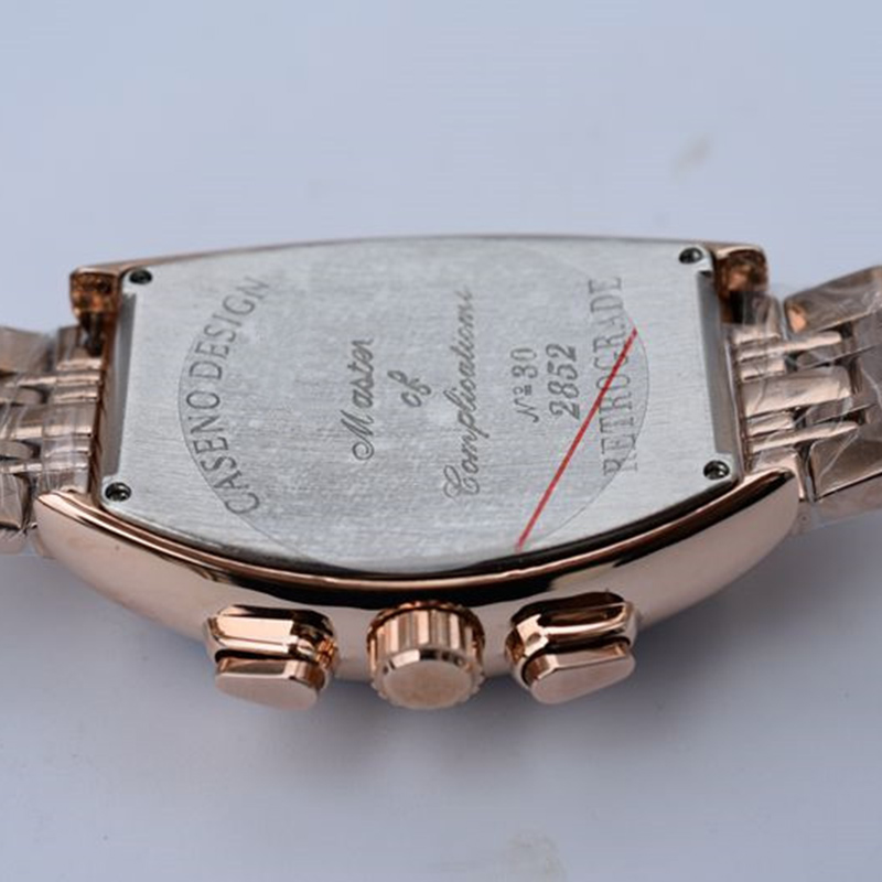 2019 Mens di Scheletro Orologi Oro Argento In Acciaio Inox Impermeabile Top Brand di Lusso Trasparente Maschio Meccanico Orologio Da Polso Nuovo - 5