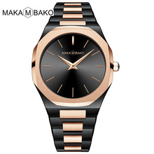 все цены на 2019 New Women Quartz Wristwatches For Women Simple Slim Quartz Clock Luxury Brand Fashion Ladies Dress Waterproof Wrist Watches онлайн