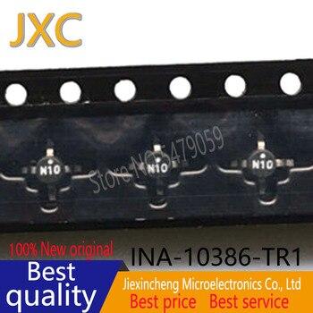 10PCS INA-10386-TR1 N10PCS INA-10386 INA-02186-TR1 N02 INA-02186 INA-02184-TR1G INA-02184 INA-03184-TR1 N03 SMT-86 New original фото