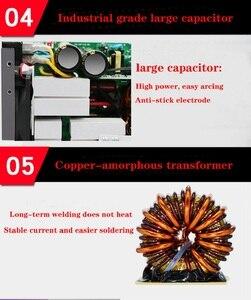 Image 3 - Бесплатная доставка 220В 250А высококачественный дешевый и портативный сварочный инвертор сварочные машины ZX7 250