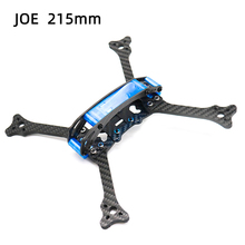 TCMMRC FPV Drone Frame Kit Joe 215 Wheelbase 215mm 5mm Arm Carbon Fiber For RC Drone FPV Racing Frame Kit smart 100mm carbon fiber frame kit micro fpv for diy rc racing quadcopter drone f19336