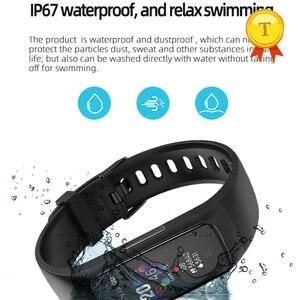 Image 3 - La migliore vendita PPG ECG braccialetto intelligente di pressione sanguigna misura di ossigeno nel sangue monitor di frequenza cardiaca della vigilanza di forma fisica tracker wristband