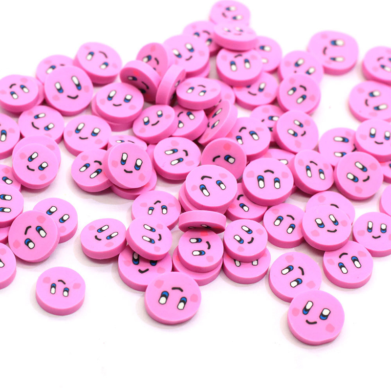 Happy Monkey 100g/500g Slime Additives Supplies Cute Kawaii Polymer Clay DIY Kit Decor For Fluffy Clear Crunchy Slime Clay