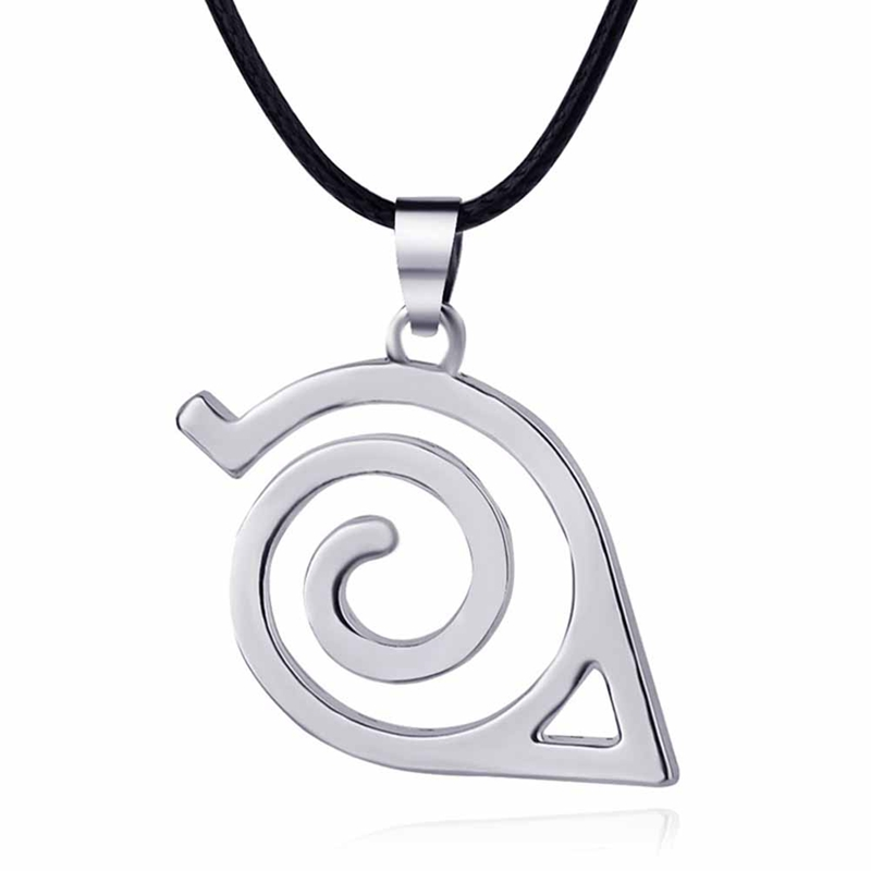 Naruto Love letter Symbol Angel Wings Cosplay Metal Charm Necklace US