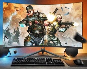 """Monitor de ordenador para videojuegos, Resolución 4K, 34 """", 32 pulgadas, 1ms, TN, curvo, 144hz"""
