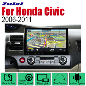 Automobile Multimedia Player For Honda Civic 2006~2011 GPS Navigation Car Android System Screen Radio Stereo display