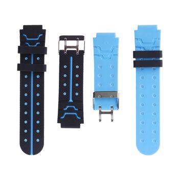 16MM Silicone Belt Children Kids Watchband Wrist Strap Replacement for Q750 Q100 Q60 Q80 Q90 Q528 T7 S4 Y21 Y19 Smart Watch GPS image