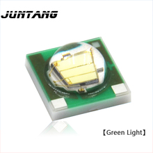 20pcs High power 3W LED CREE 3535 XPE XP-E green light bead 515-535nm cree xpe chip with PCB aluminum substrate