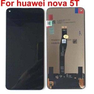 Image 3 - 100% ทดสอบต้นฉบับสีดำ 6.26 สำหรับ Huawei Honor 20 honor20 /nova 5T YAL L21 จอแสดงผล LCD หน้าจอสัมผัส digitizer ASSEMBLY Parts