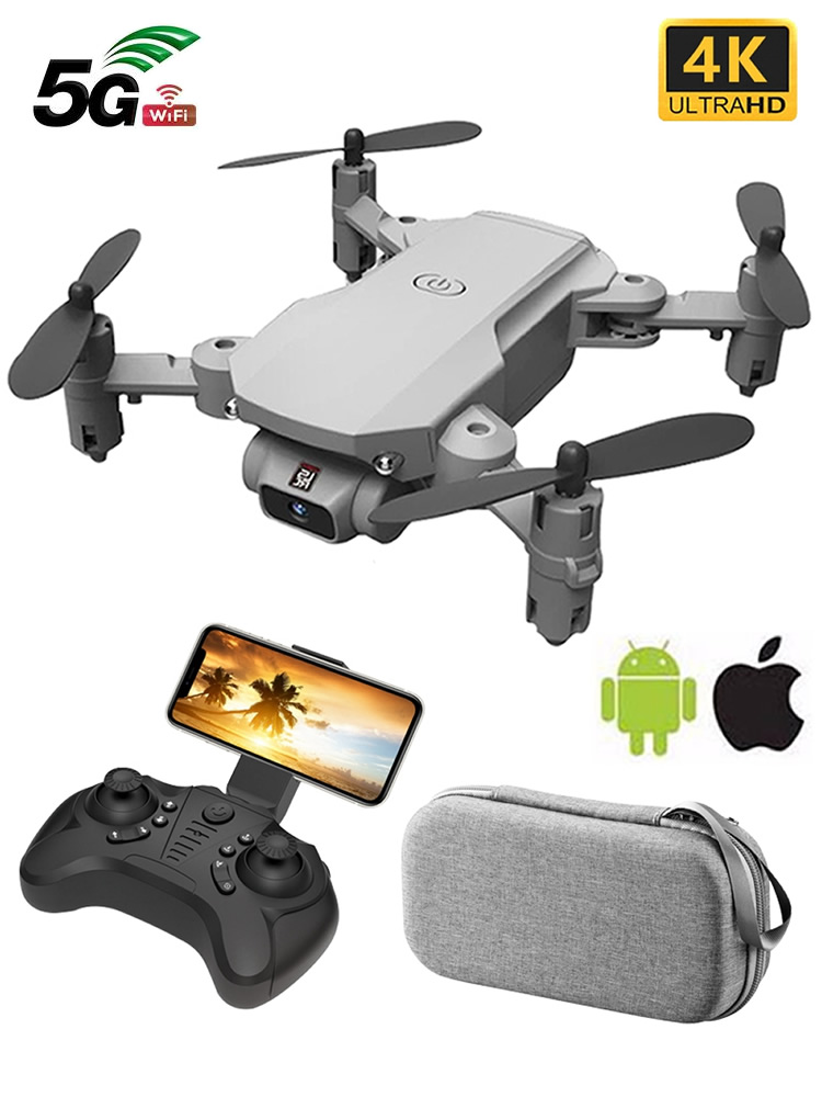 Mini RC Drone with HD Camera WiFi FPV UAV Aerial Photography Helicopter Foldable LED Light Quadrocopter Quality Toy AOSST
