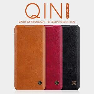 Image 2 - Для xiaomi Redmi Note 9 Pro флип чехол Примечание 10 Lite корпус NILLKIN Qin с просыпающимся Смарт кошелек кожаный чехол для телефона Redmi Note 8 10X 5G
