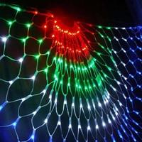 Peacock String Light 3M Peacock Mesh Net Led String Lights Outdoor Wedding Window Strings