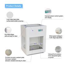 110 В/220 В вытяжной шкаф лабораторный мини-стол для очистки ламинарного потока шкаф для очистки и удаления вредных газов