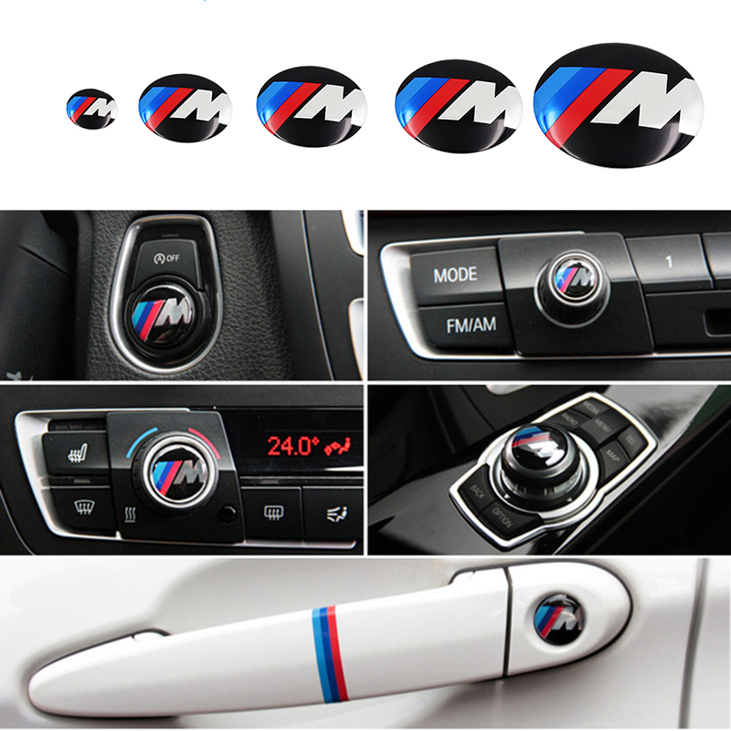 Air Conditioning Knob Decorative Car Interior Modification Stickers For Bmw X3 X4 X5 X6 4series 5series Car Stickers Accessories