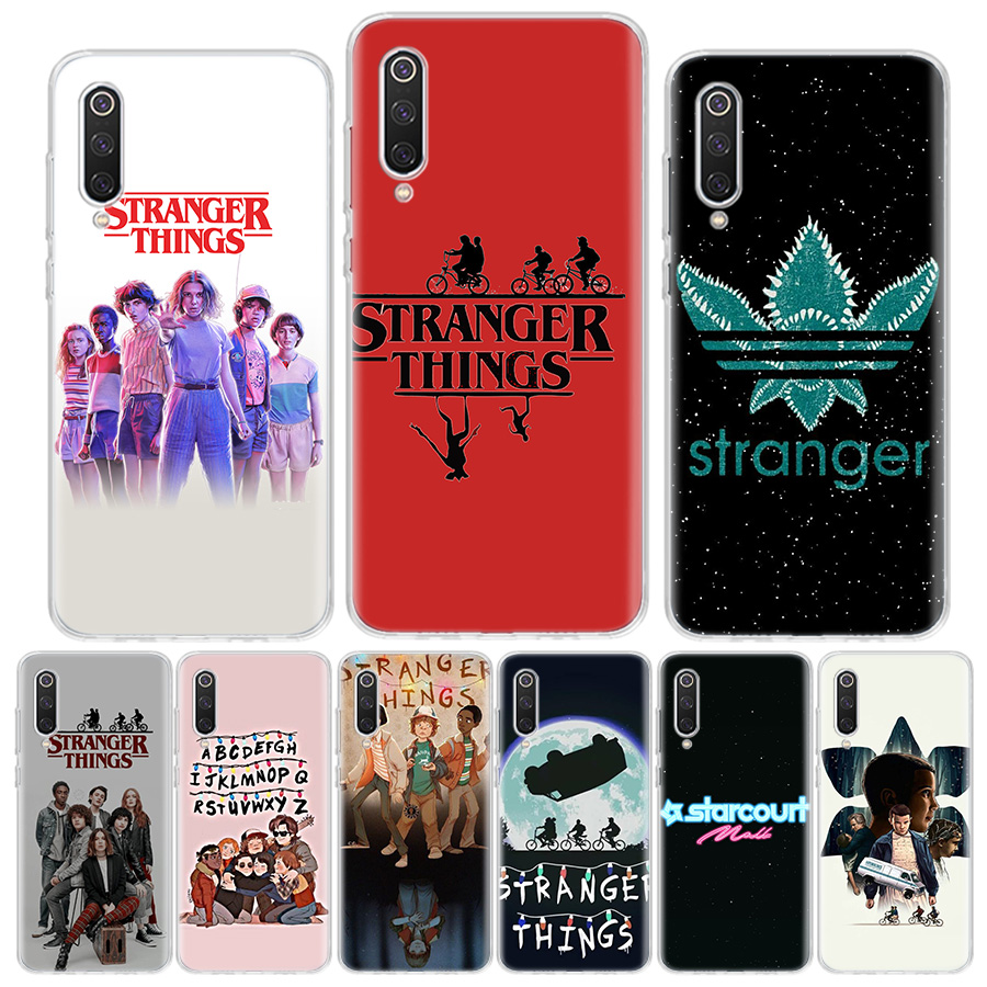 Stranger Things 3 Phone Case For Xiaomi Redmi MI Note 8T 8 Pro 9 9S 8A 7 6 5 5A K30 20 S2 F110 CC9 9 8 6X 5X 4X Cover