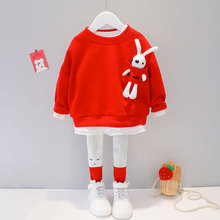Children Costume T-Shirt Toddler Baby-Girl Rabbit Fashion Pants Trousers Cute Clothes