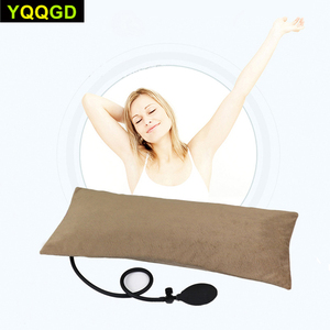 Image 5 - MultifunctionalแบบพกพาAir InflatableหมอนสำหรับLower Back Pain,Orthopedic Lumbar Support Cushion