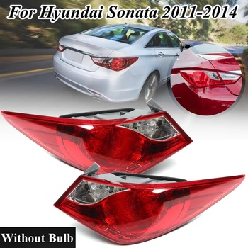 Left&Right Tail Light For Hyundai Sonata 2011 2012 2013 2014 Taillight Rear Reverse Brake Fog Signal Lamp With Wire Side light