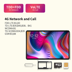 "Image 4 - Tablet telefoniczny Teclast T30 4G android 9.0 10.1 ""1920x1200 MTK P70 4GB RAM 64GB ROM tablety PC podwójny aparat GPS type c 8000mAh"