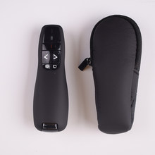 PPT Presenter 2.4GHz USB R400 Wireless Remote Control Red Laser Pen Pointer For Powerpoint Z2 , With Portable bag
