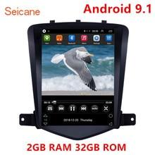 Seicane 9.7 Inch 2GB Android 9.1 Máy Nghe Nhạc Đa Phương Tiện GPS Cho 2008 2009 2013 Chevy Chevrolet Cổ Điển Cruze hỗ Trợ TPMS Carplay