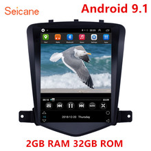 Seicane 9,7 zoll 2GB Android 9.1 Auto Multimedia Player GPS für 2008 2009 2013 chevy Chevrolet Classic Cruze unterstützung TPMS Carplay