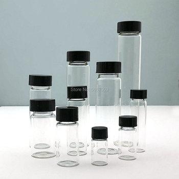 2ml do 60ml fiolka z przezroczystego szkła fiolka laboratoryjna butelka odczynnika małe przezroczyste fiolki medyczne do eksperymentu chemicznego tanie i dobre opinie CN (pochodzenie) Kolby